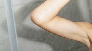 Child in shower