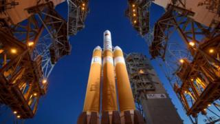 Parker Solar Probe rocket