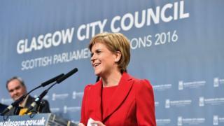 Sturgeon in Glasgow