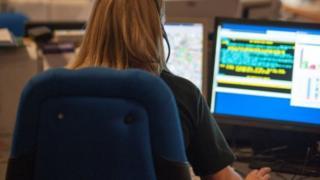 Call handler at emergency centre