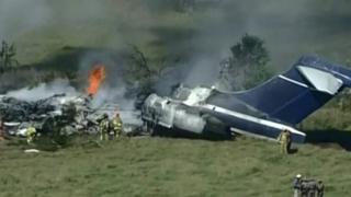 Plane crash in Texas