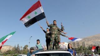 निदर्शनं सीरिया