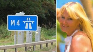 Tribute to Patricia Connors who died trying to save dog on M4