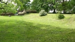 Remains of the Roman fort in Malton