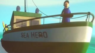 سفر اکتشافی قهرمان دریا