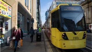 The Metrolink tram system in Greater Manchester is one scheme that could benefit