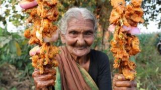အိန္ဒိယ၊ အသက်အရှည်ဆုံး၊ စားဖိုမှူး၊ ဘွားဘွားကြီး၊ ဟင်းချက်နည်း