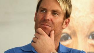 Shane Warne looks on during the Shane Warne Foundation Family Day at Luna Park on December 3, 2013 in Melbourne