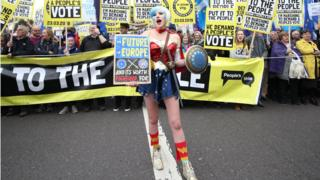 Brexit People's Vote March