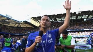 Nahodha wa zamani wa Chelsea John Terry