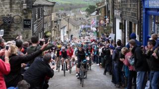 Tour de Yorkshire 2015, Haworth