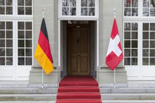 德瑞兩國國旗