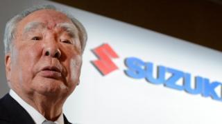 Suzuki chief executive Osamu Suzuki