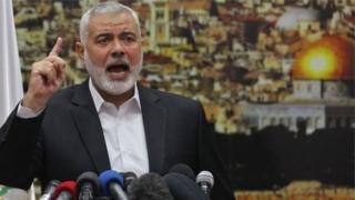 Hogaamiyaha ururuka Hamas, Ismaciil Haniyeh