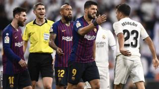 ABakinyi ba Barcelona na Real Madrid