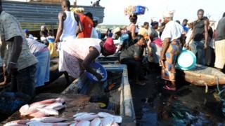 Au débarcadère du port de père artisanale de Sekondi (illustration).