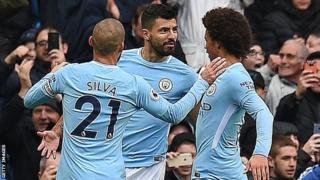 Manchester City beat Burnley