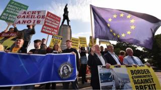 Belfast protest