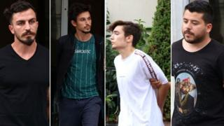 Gözaltına alınan 5 şüpheliden dördü