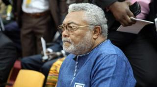Jerry Rawlings aliitawala Ghana kwa miaka 18