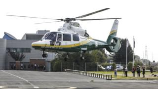 GNAAS new helicopter