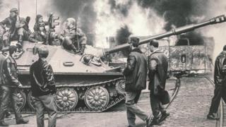 Війська у Празі