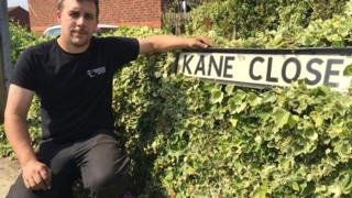 Steve Rawlings on Kane Close,