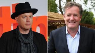 Ewan McGregor and Piers Morgan
