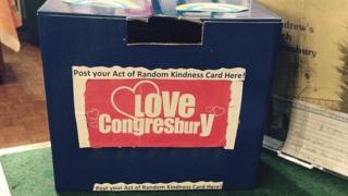 Acts of Random Kindness in Congresbury, North Somerset