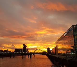 Sunrise river Clyde