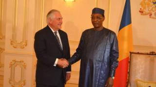 Rex Tillerson, le chef de la diplomatie tchadienne a déclaré lundi que Washington envisageait de lever l'interdiction de voyager aux Tchadiens