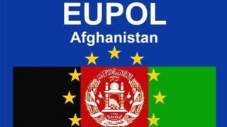 لوگوی ماموریت پلیس اتحادیه اروپا برای افغانستان