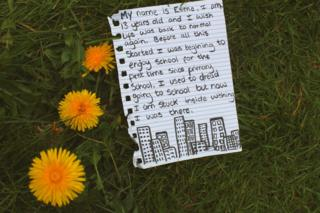 Words from the Heart, Esme Duckworth, aged 13