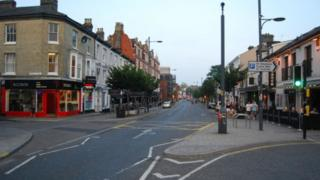 Prince of Wales Road in Norwich