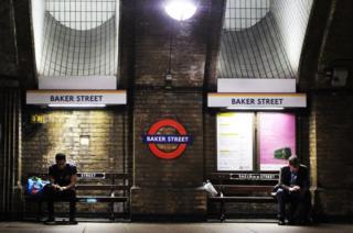 Baker Street underground station