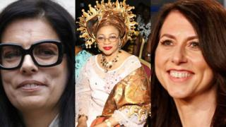 Some rich women for world