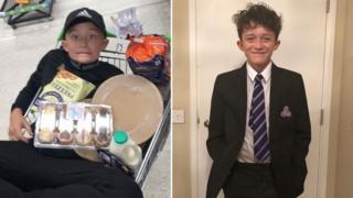 Caerphilly crash death: Boy knocked off bike was 'fun-loving'