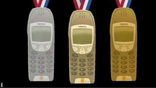 مدل گرافیکی موبایل بعنوان مدال المپیک
