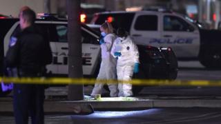 طلبت الشرطة من المواطنين الابتعاد عن موقع الحادث