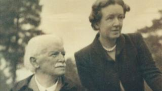 David Lloyd George and mistress Frances Stevenson
