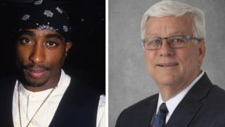 Tupac Shakur and Jerry Foxhoven