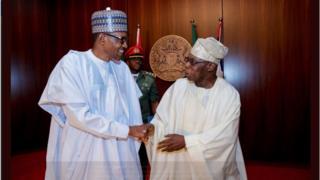 Buhari ati Ọbasanjọ nki ara wọn