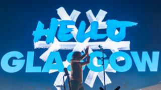 Snow Patrol performing in Glasgow