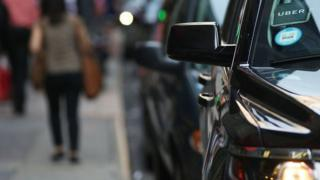 An Uber driver told the BBC he would carry on driving even if he became ill (stock image)