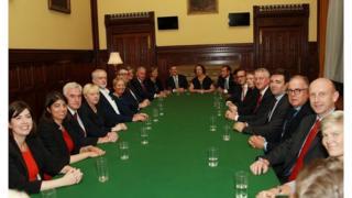 Shadow cabinet