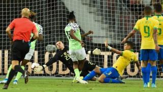 Joe Aribo score Nigeria goal