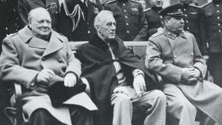 Lãnh đạo Anh, Mỹ, Liên Xô tại Yalta năm 1945