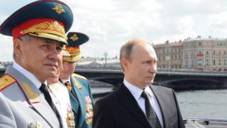 Rusiya prezidenti və ölkənin müdafiə naziri birlikdə, şəkil iyulda çəkilib