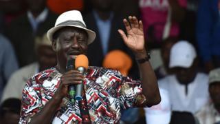 Raila Odinga tell im supporters say im own swearing in go happen December 12.