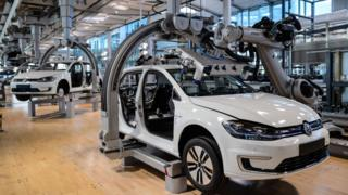 VW production line